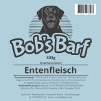 Bobs Barf Entenfleisch Etikett