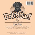 Bobs Barf Lachs Etikett